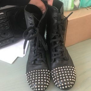 Studded Combat Boots from Steve Madden